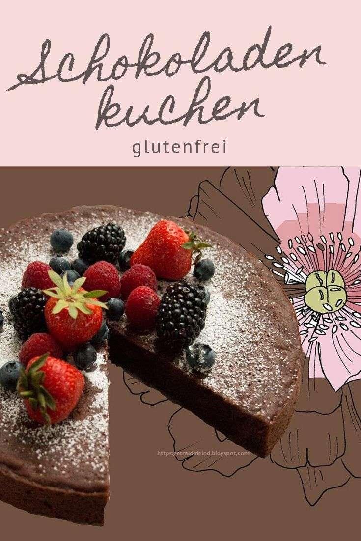 Veganer und glutenfereier Schokoladenkuchen