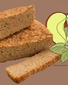 Apfelminzbrot, glutenfrei
