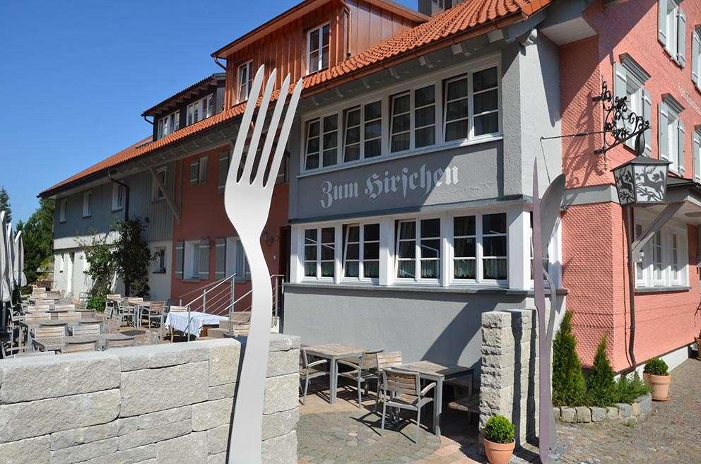 Restaurant Zum Hirschen Scheidegg, glutenfrei
