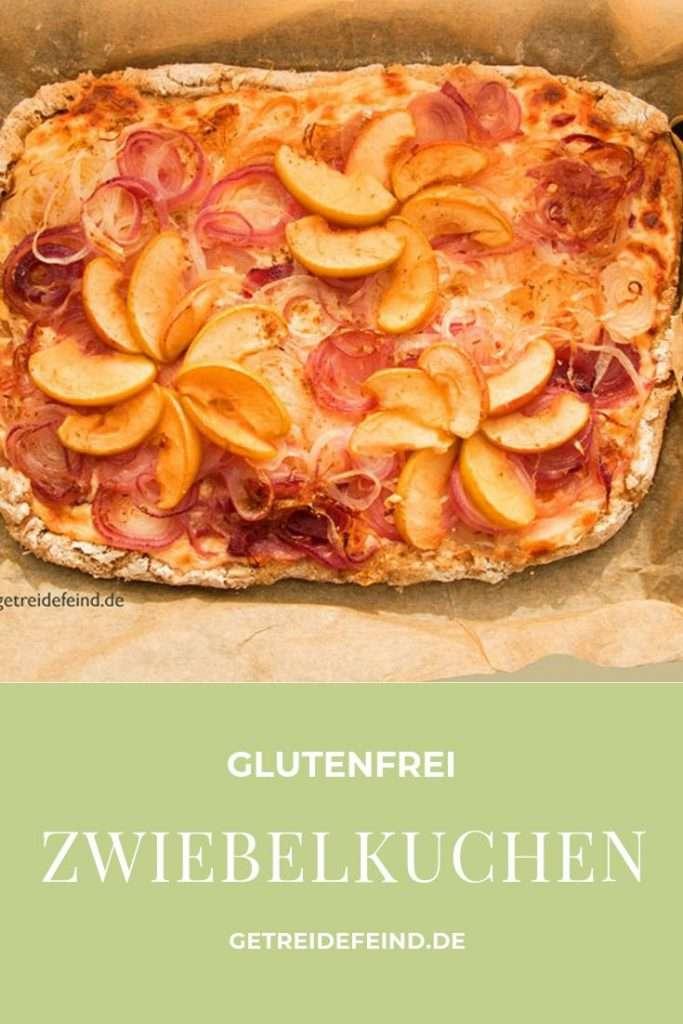 Zwiebelkuchen, glutenfrei