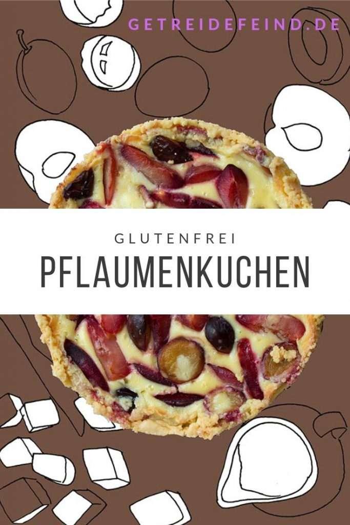Glutenfreier Pflaumenkuchen