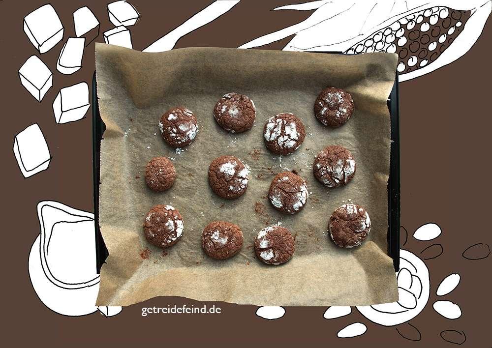 Schokoladenplätzchen, glutenfrei