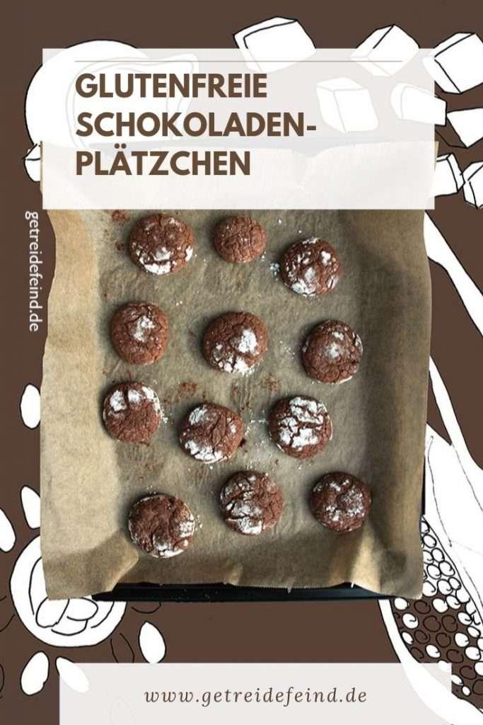 Schokoladenplätzchen, glutenfrei und vegan