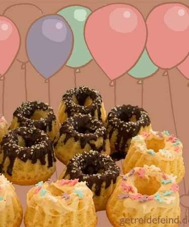 Geburtstagskuchen, glutenfrei