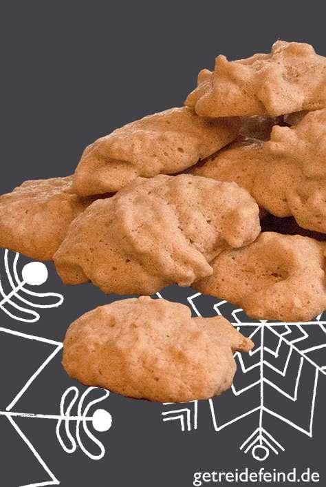 Glutenfreie Mandelschaum