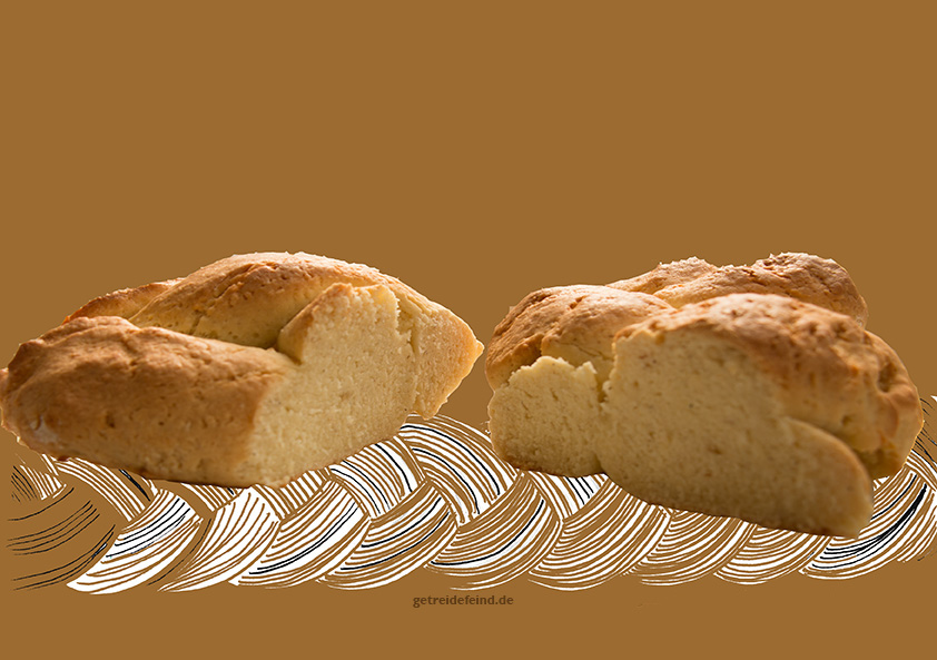 Glutenfreier Hefezopf