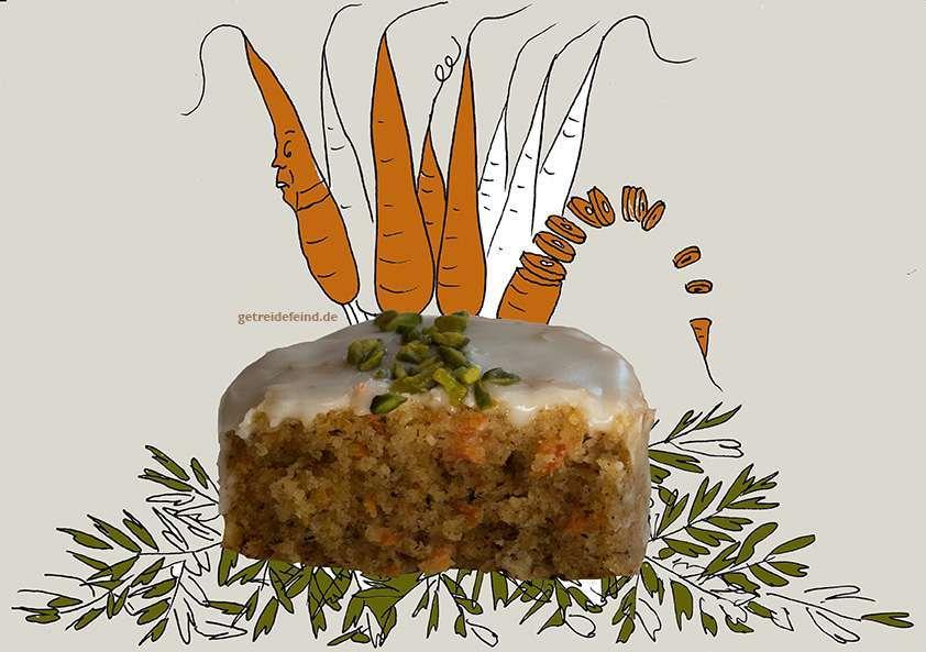 Glutenfreie Möhrenmuffin