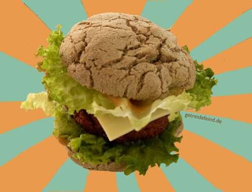 Glutenfreier Burger