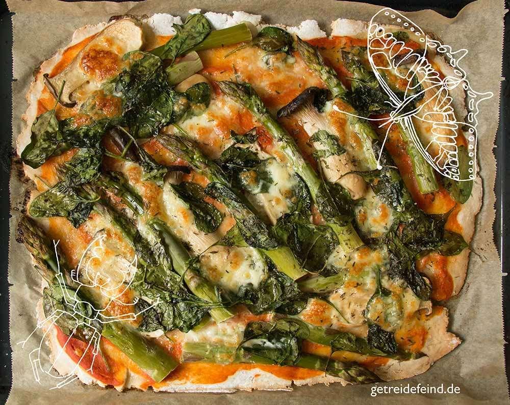 Gemüsepizza, glutenfrei