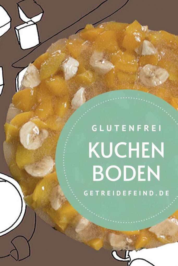 Kuchenboden, glutenfrei