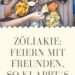 Zöliakie: Feiern mit Freunden