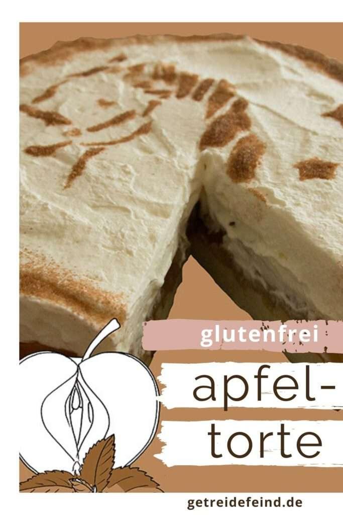 Apfeltorte, glutenfrei